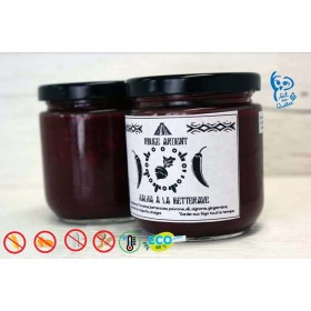Salsa au betteraves - rouge ardent