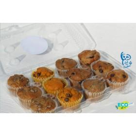 Boîte de muffins méli-mélo